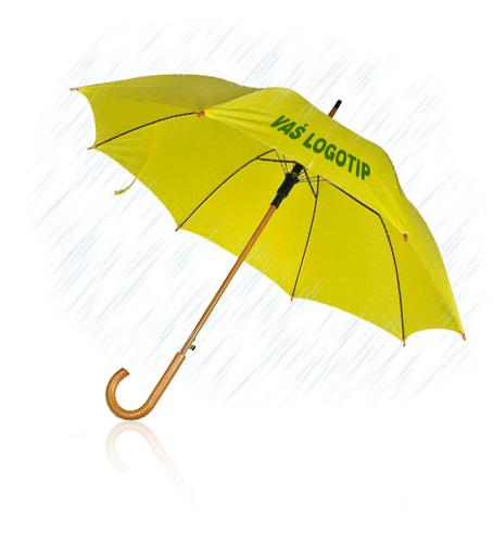 Promotivni kišobrani - kišobran s Vašim logotipom
