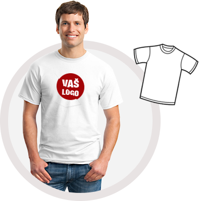 Majice s tiskom Vašeg logotipa!