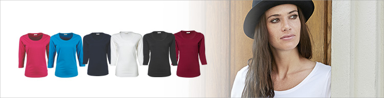 3/4 Arm T-Shirt Ladies
