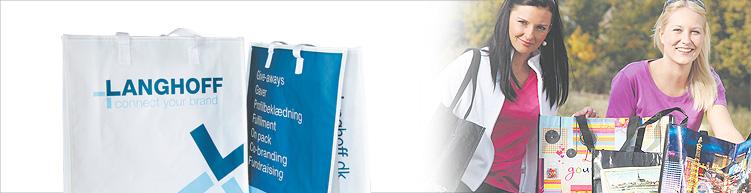 Tasche aus PET/PP individuell gefertigt