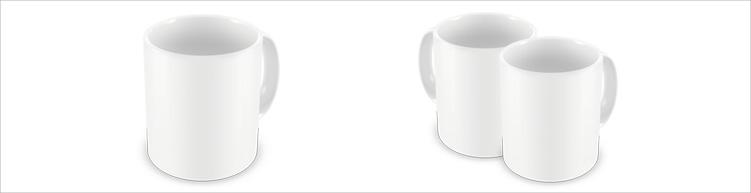 Klassische Keramik-tasse