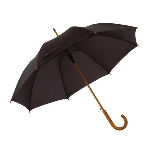 AUTOMATIC WOODEN STICK UMBRELLA