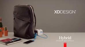 Hybrid 6.000mAh power backpack - Werbeartikel