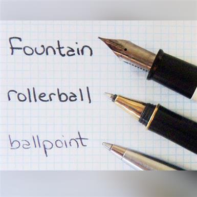 Виды ручек. Какая между ними разница?