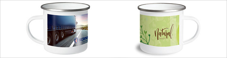 Senator Metalltasse Sublimation Pics Outdoor