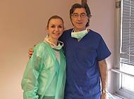 Tim za transplantaciju kose u Milanu