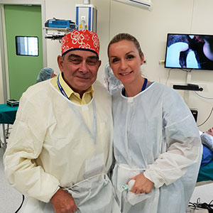 Dr. William Rassman (USA), dr. Ana Maletić