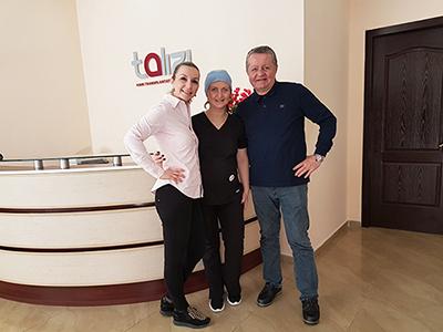 Dr. Duško Maletić i Dr. Ana Maletić u Gruziji