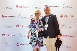 Dr. Duško i Ines Maletić na kongresu IMCAS Asia