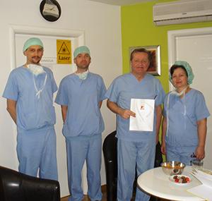 Edukacija u Poliklinici Dr. Maletić: gosti iz Mađarske, 1. mjesec, 2015. godine