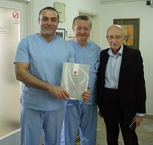 Edukacija u Poliklinici Dr. Maletić: gosti iz Engleske, 4. mjesec, 2015. godine