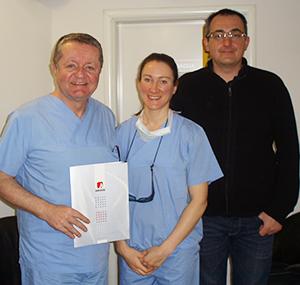 Edukacija u Poliklinici Dr. Maletić: gosti iz Australije, 3. mjesec, 2015. godine