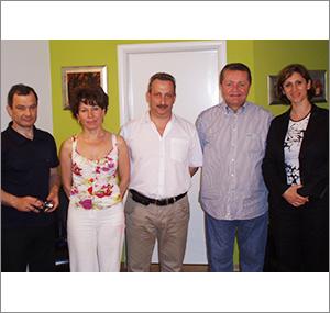 Edukacija u Poliklinici Dr. Maletić: gosti iz Rusije 2009. godine