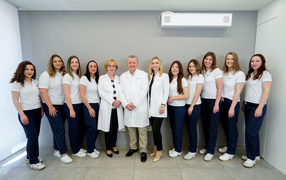 Liječnici i osoblje Poliklinike Dr. Maletić