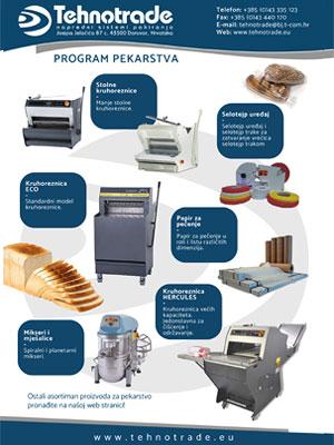 Pekarstvo i strojevi za pakiranje