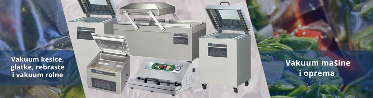 Vakuum mašine i oprema