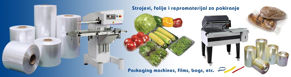 Strojevi i folija za pakiranje