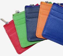Porte-cartes de crédit avec porte-monnaie