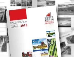 Diáře a kalendáře 2015