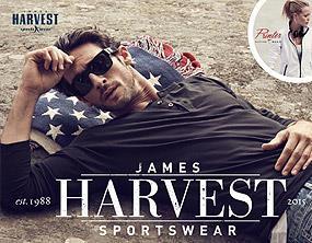Reklamní textil James Harvest